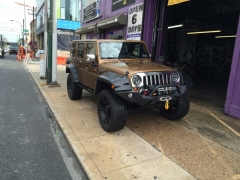 2011 customized  Jeep Wrangler