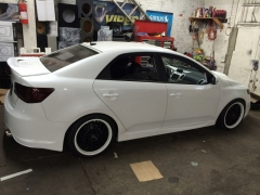 2012 Kia Forte completely modified
