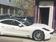 Fisker Karma customized