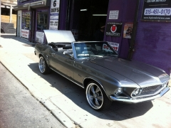 69 Mustang convertable custom system