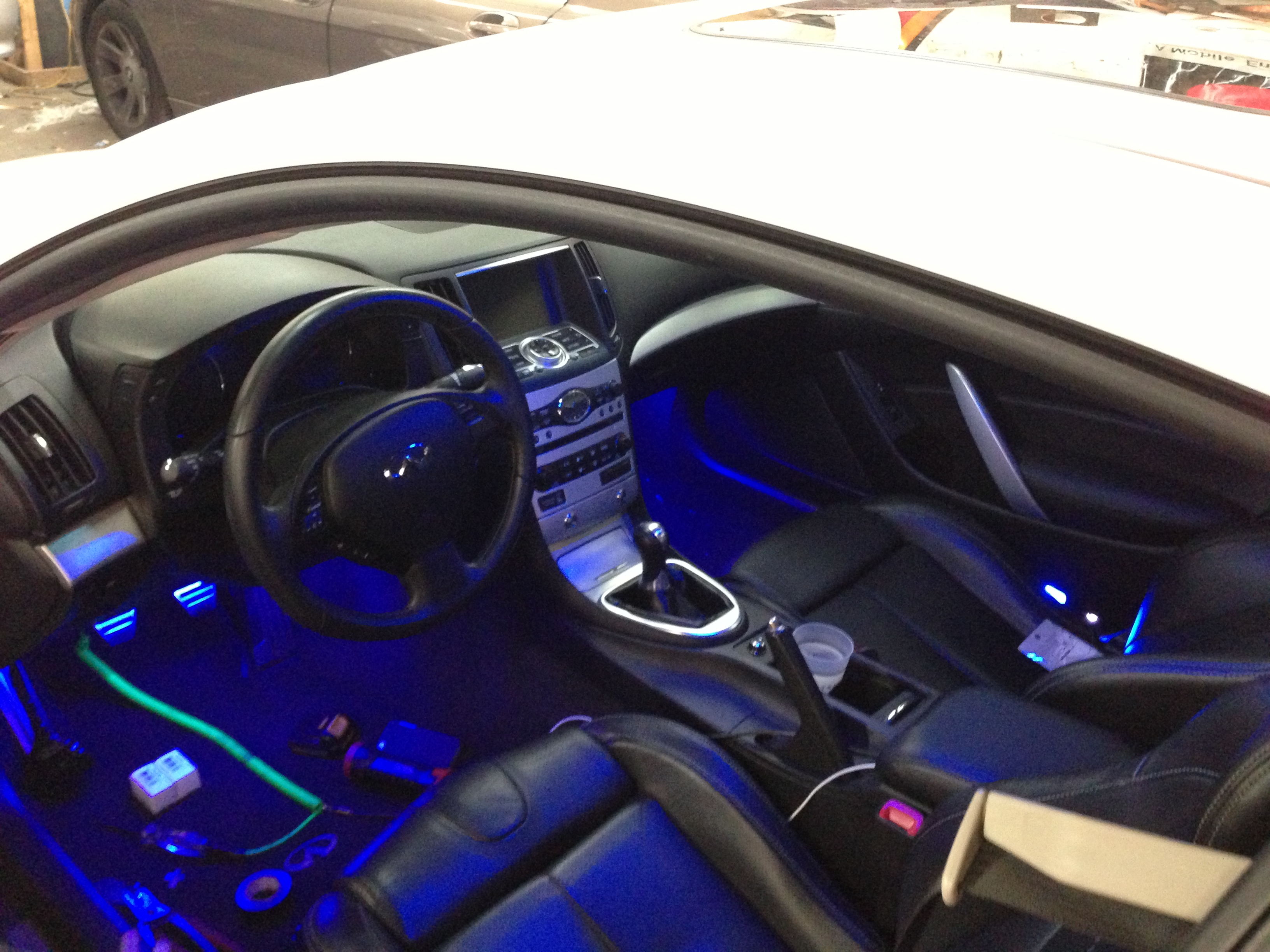 Displaying 15 Images For Custom Car Interior Lights