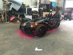 Polaris Slingshot custom Rockford system