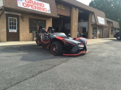 Polaris Slingshot rocked out with Phoenix Gold
