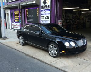 2007 Bentley GT speaker replacement