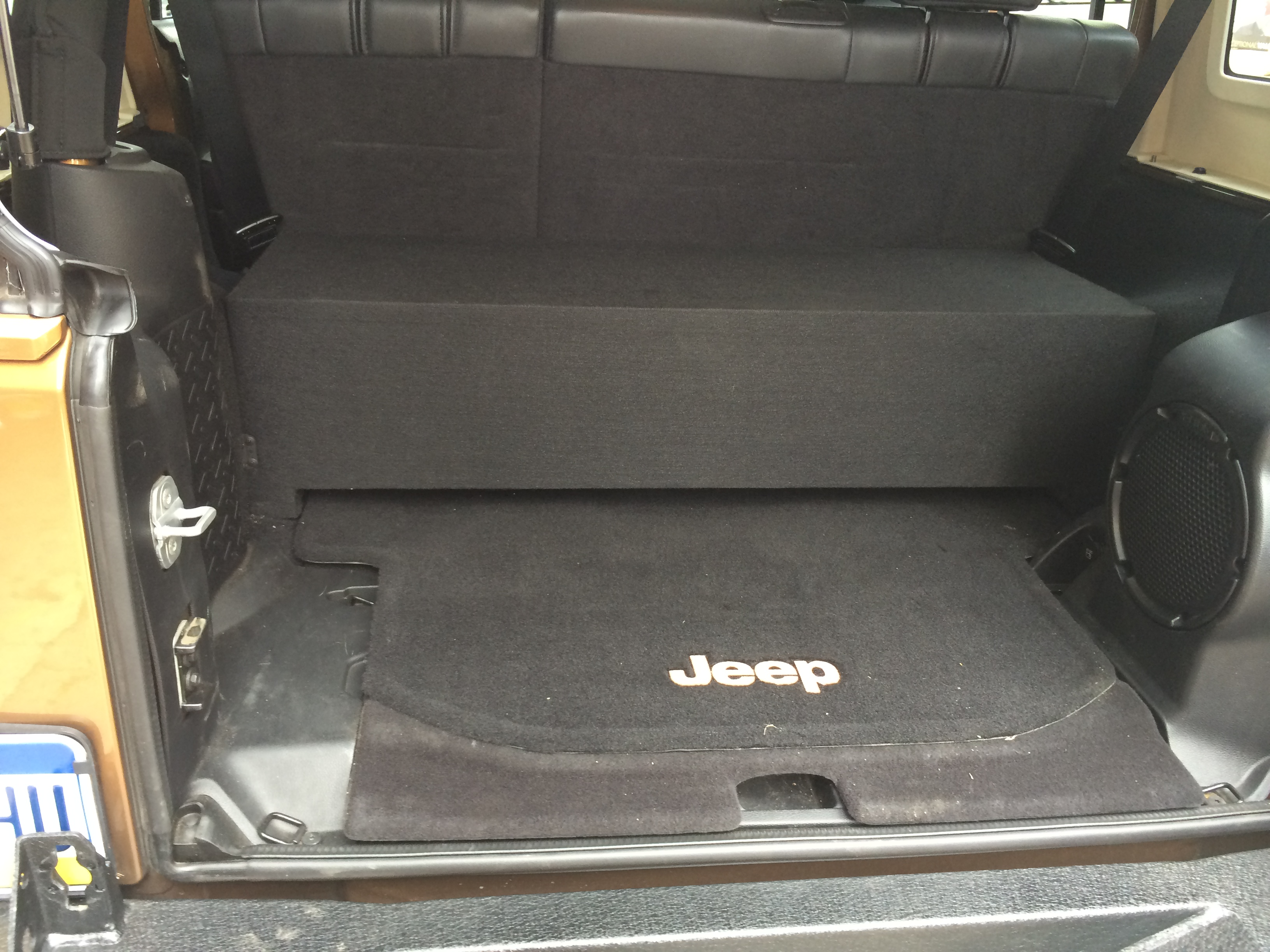 Jeep Box on Jeep Grand Cherokee Subwoofer Box