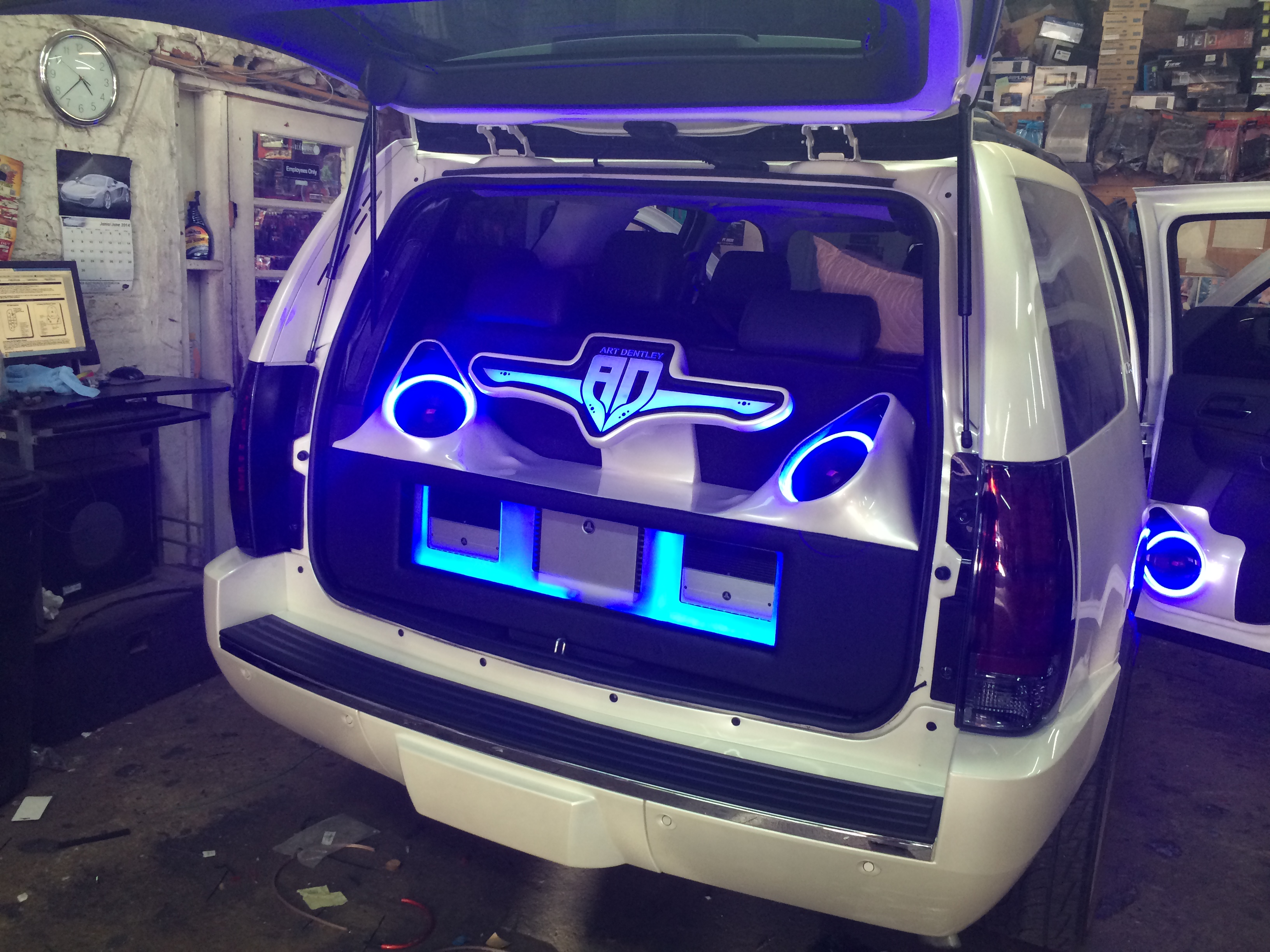 2013 Chevy Tahoe customized.   High End Car Stereos & Alarms