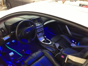 g37 interior lights