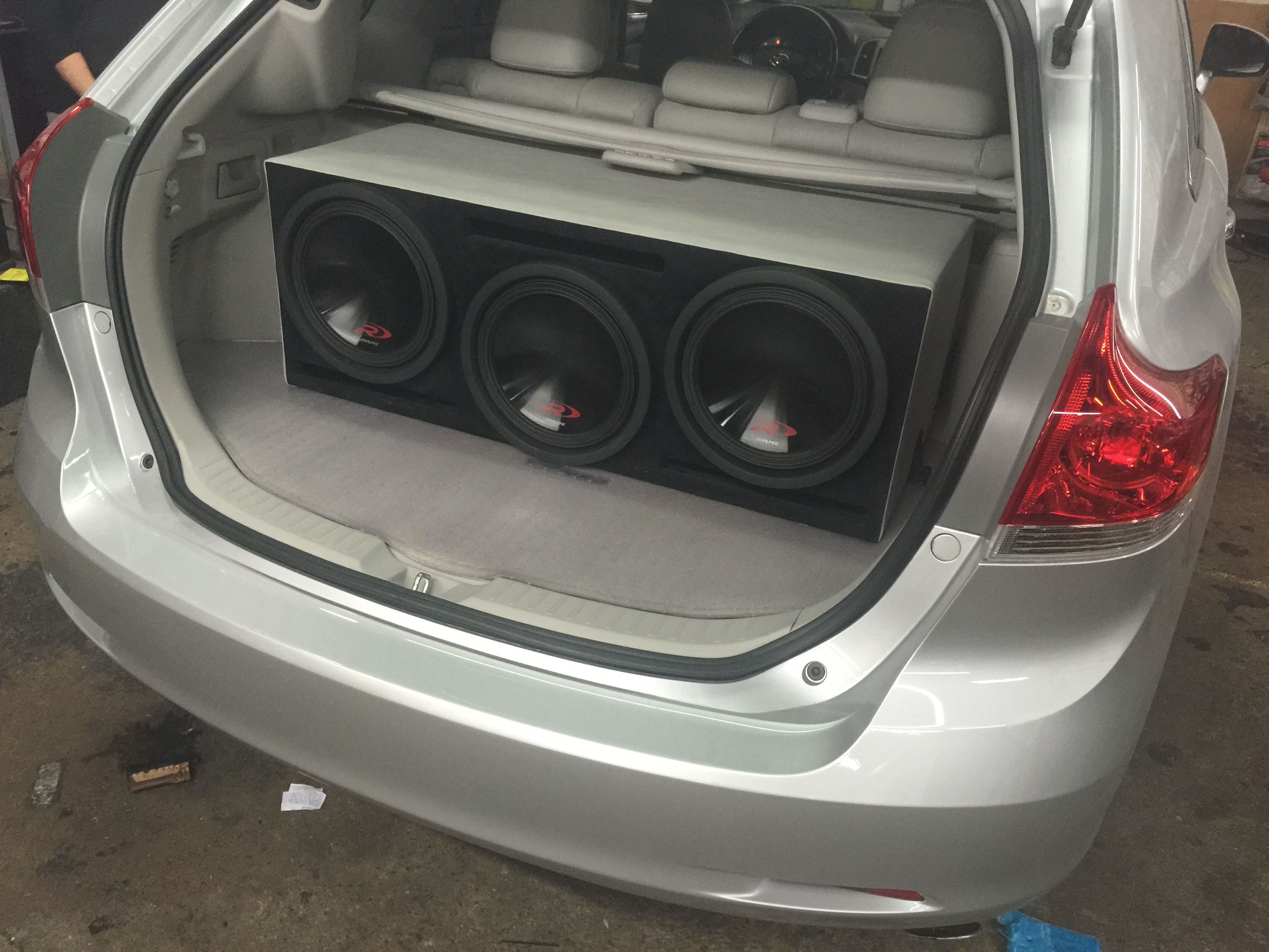 2008 Toyota Venza Customized High End Car Stereos Alarms