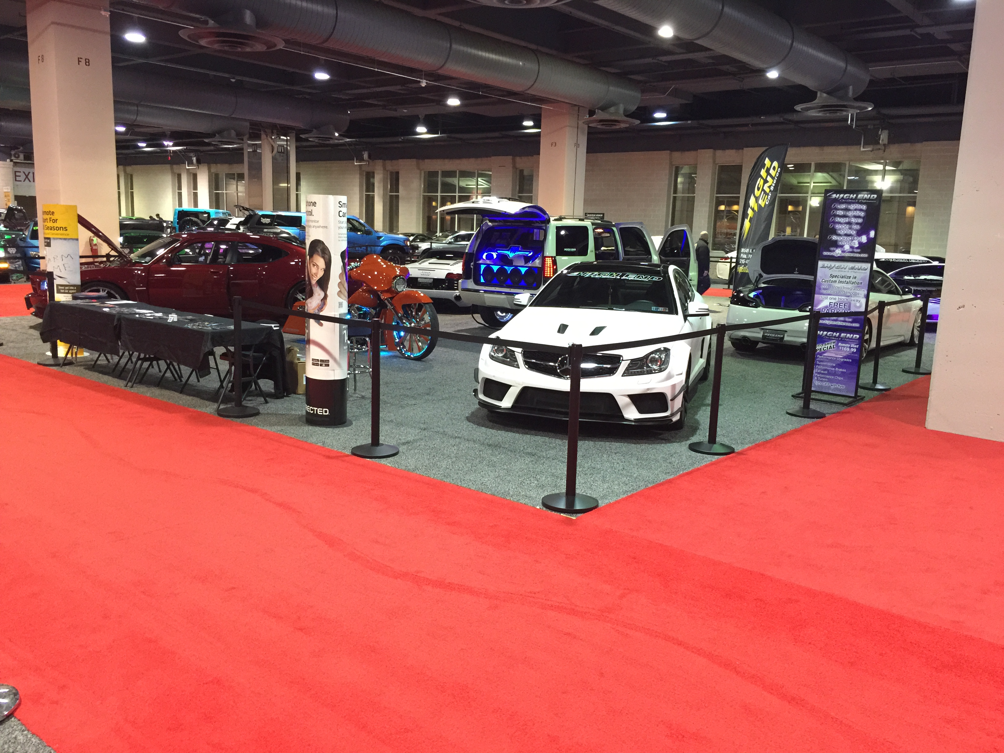 2015 Philly Auto Show Highend Car Stereo Booth High End