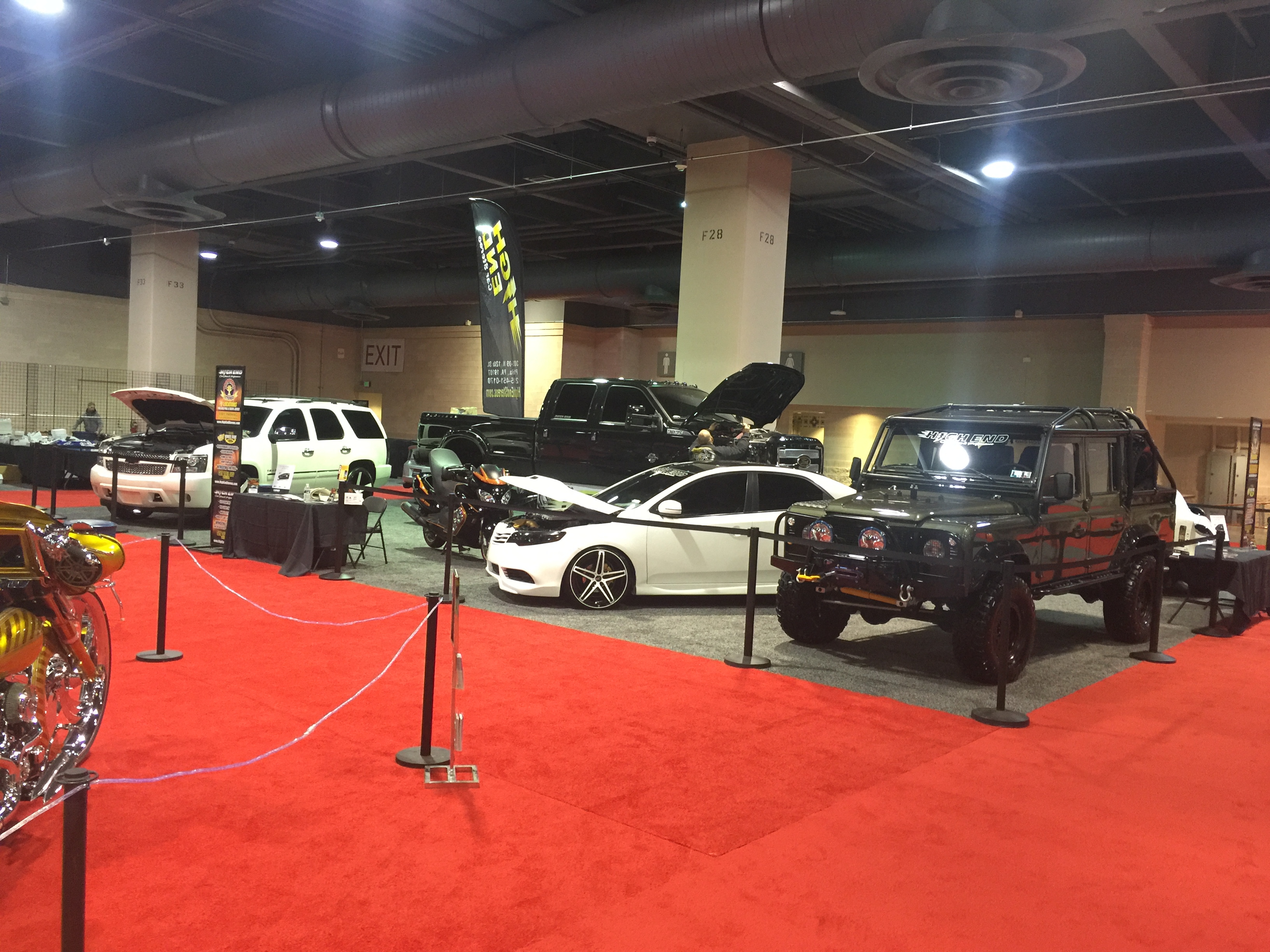 2016 Philadelphia Auto Show With Highends Debut With Abc
